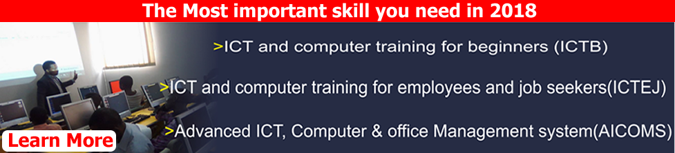 learn ict advert