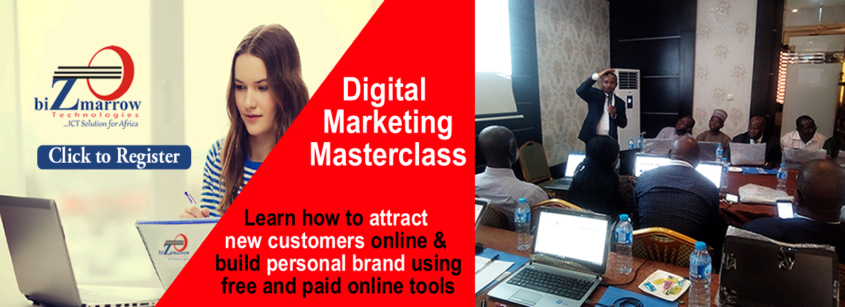digital marketing masterclass Abuja